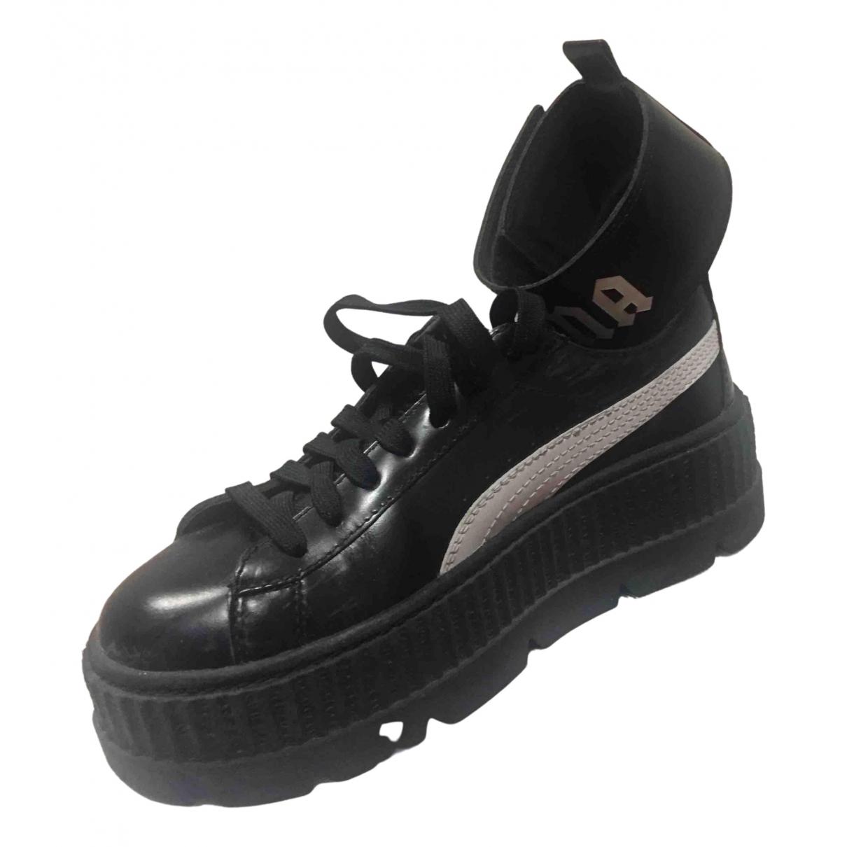 Fenty X Puma \N Sneakers in  Schwarz Kautschuk