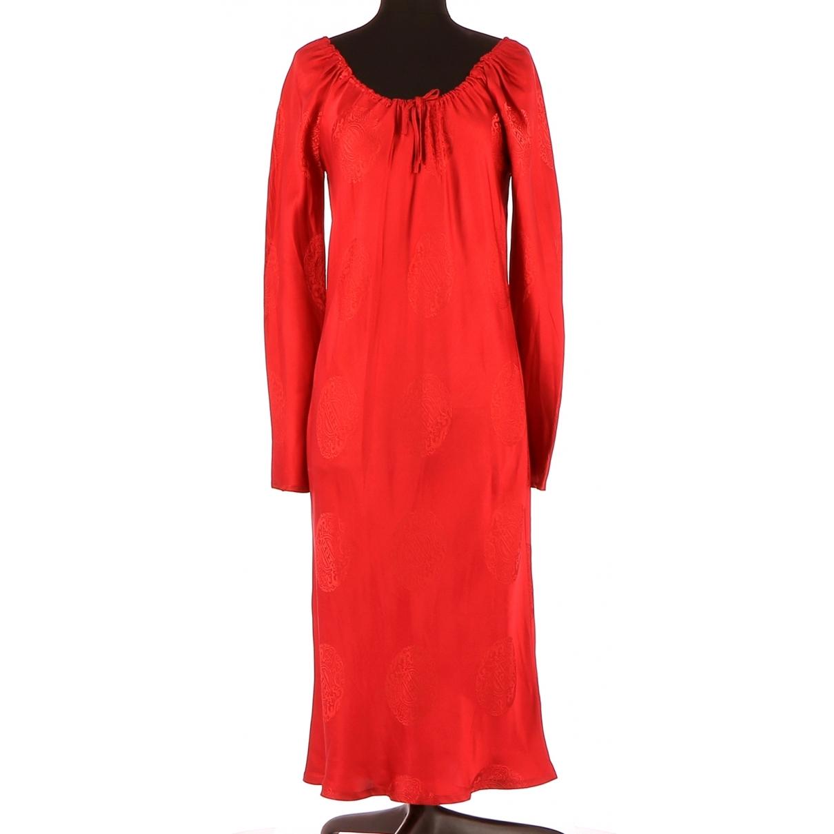 Vestido de Seda Regina Rubens