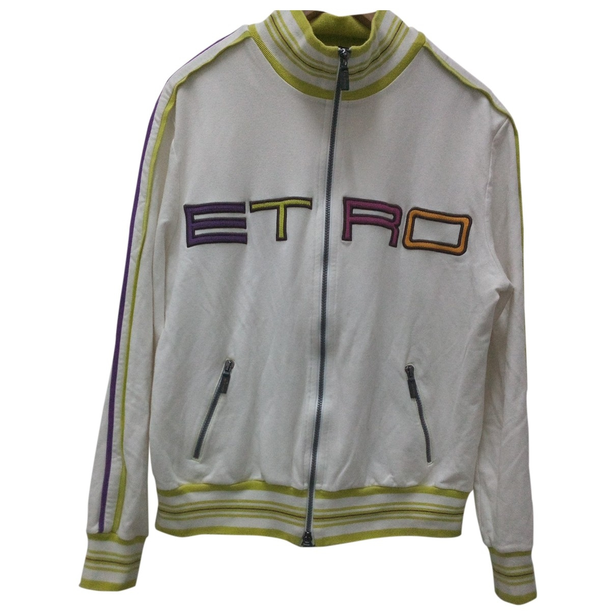 Etro \N White Cotton Knitwear for Women L International