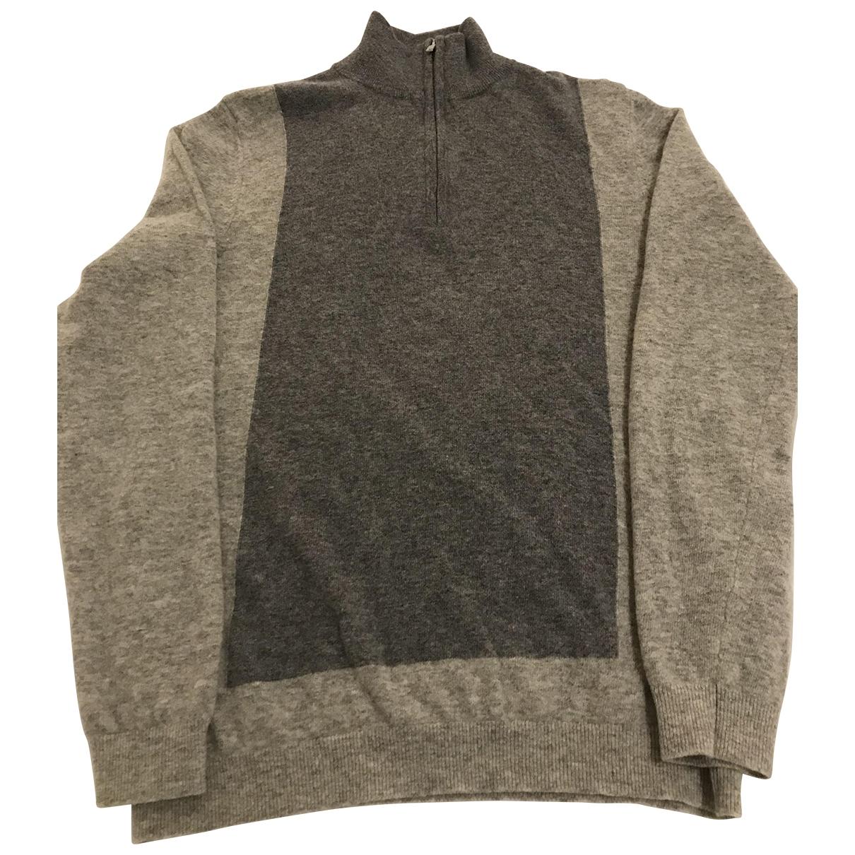 Reiss \N Pullover.Westen.Sweatshirts  in  Grau Wolle