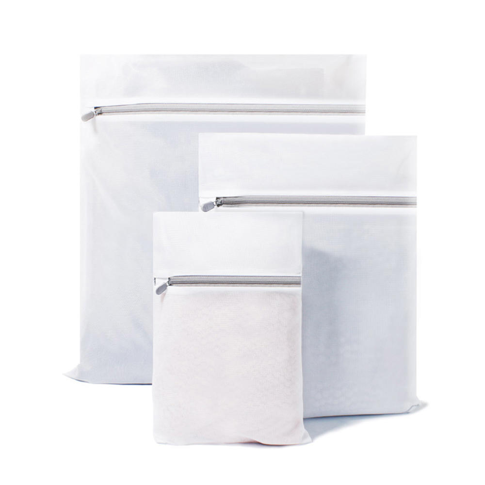 Qualitell 3PCS / Set Laundry Bag Prevent Entanglement Clothing Bag Reduce Wear Wash Clothes Washing Machine Protection N