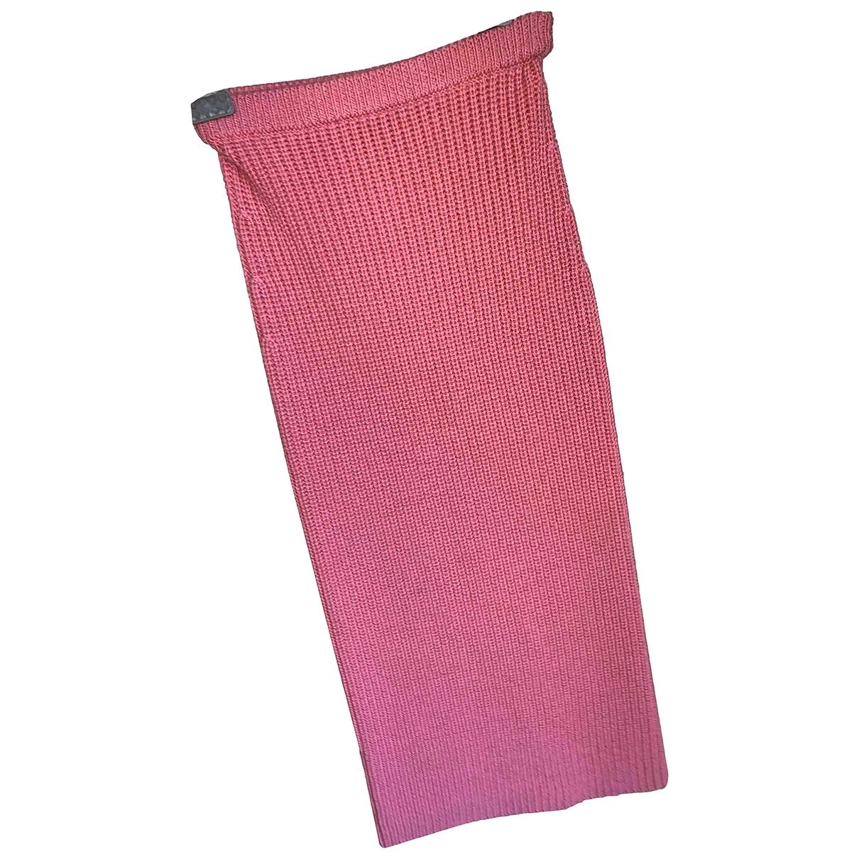 Pinko \N Rocke in  Rosa Wolle
