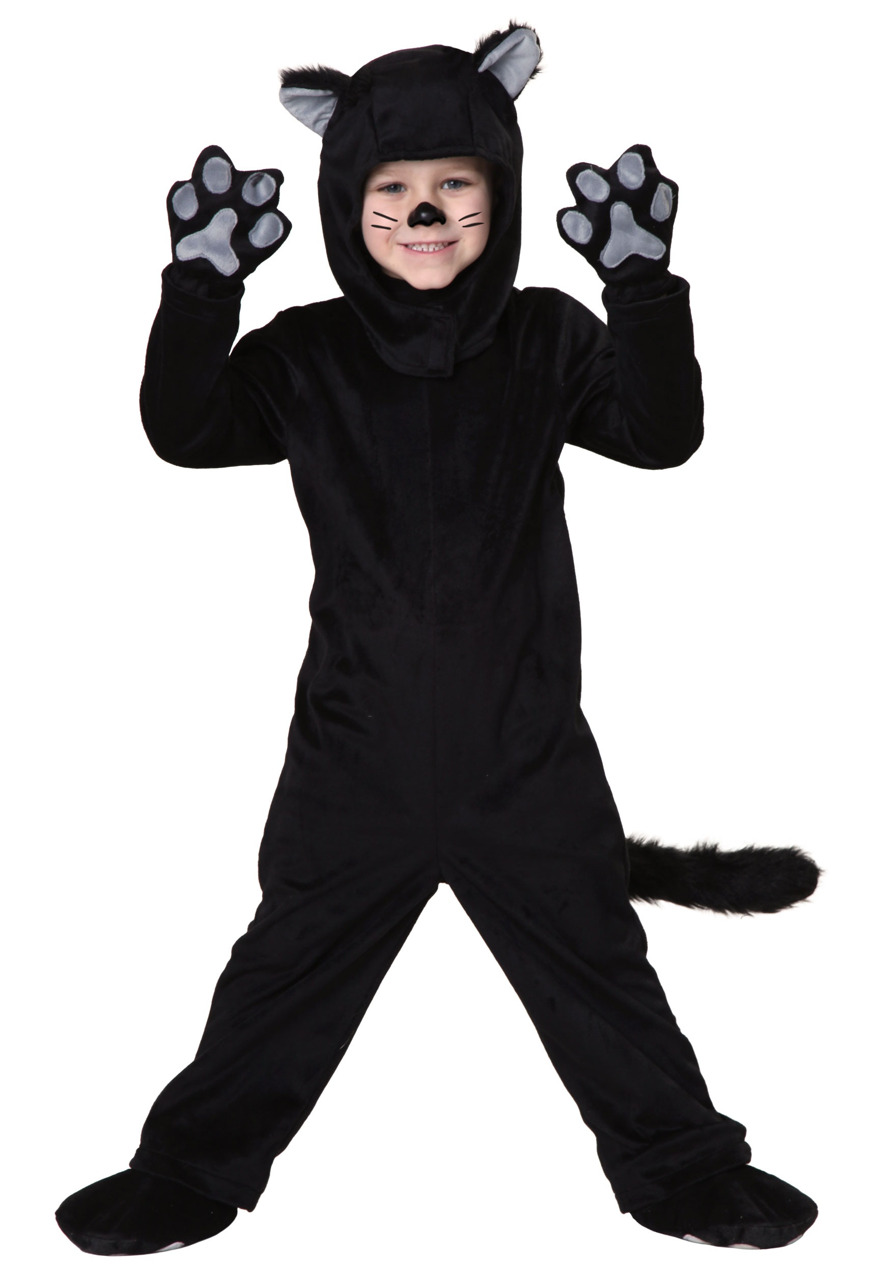 Toddler Little Black Cat Costume   Made By Us   Exclusive