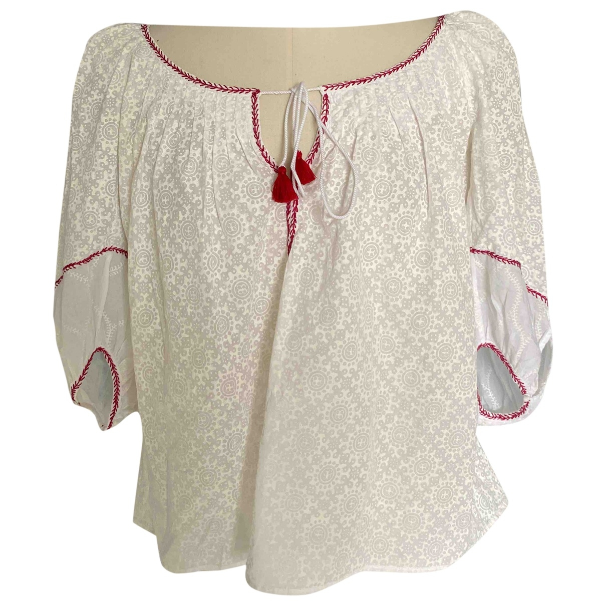 Thierry Colson \N White Cotton  top for Women M International