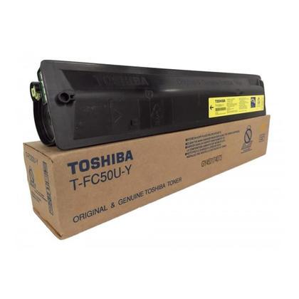 Toshiba TFC50UY cartouche de toner originale jaune
