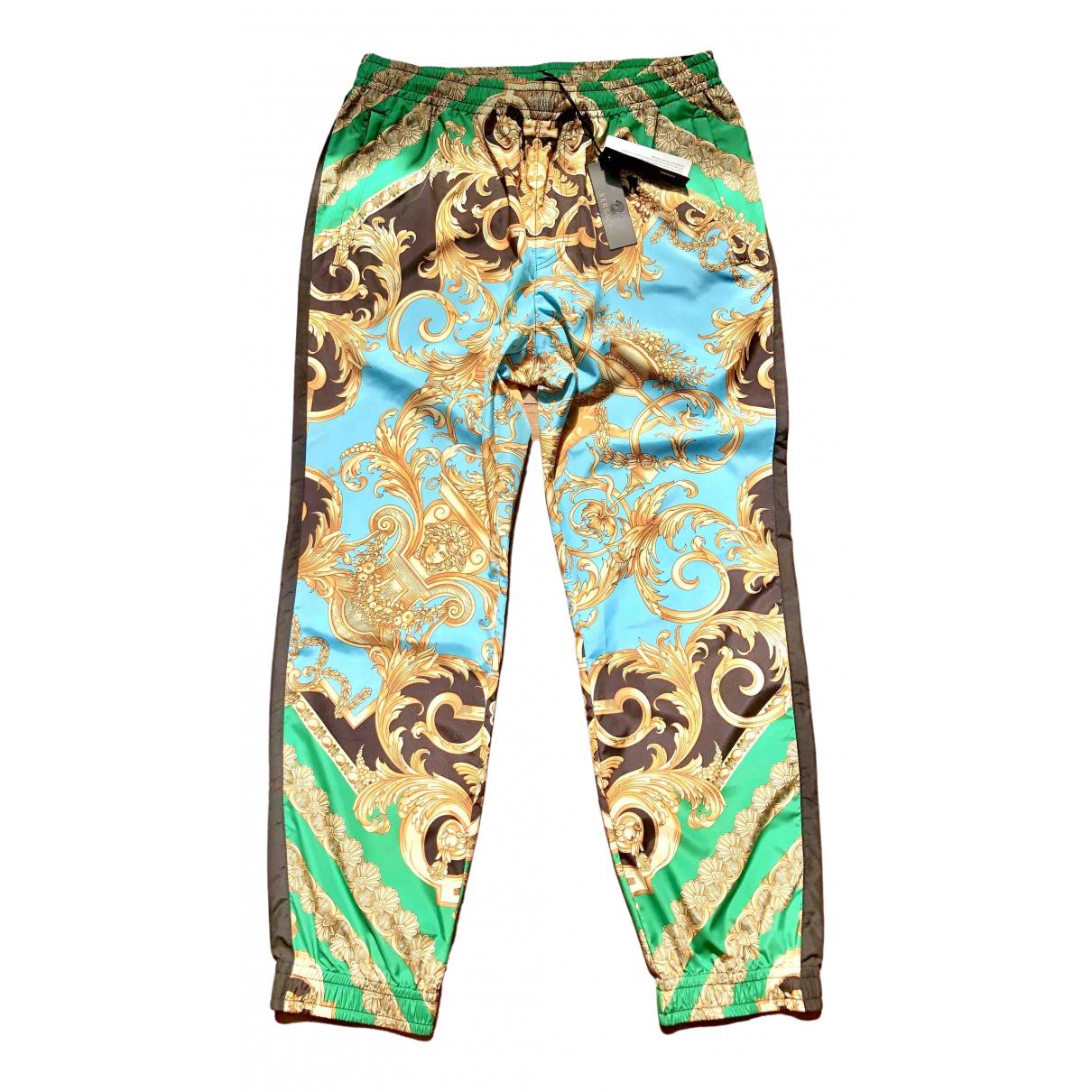 Versace \N Hose in  Bunt Polyester