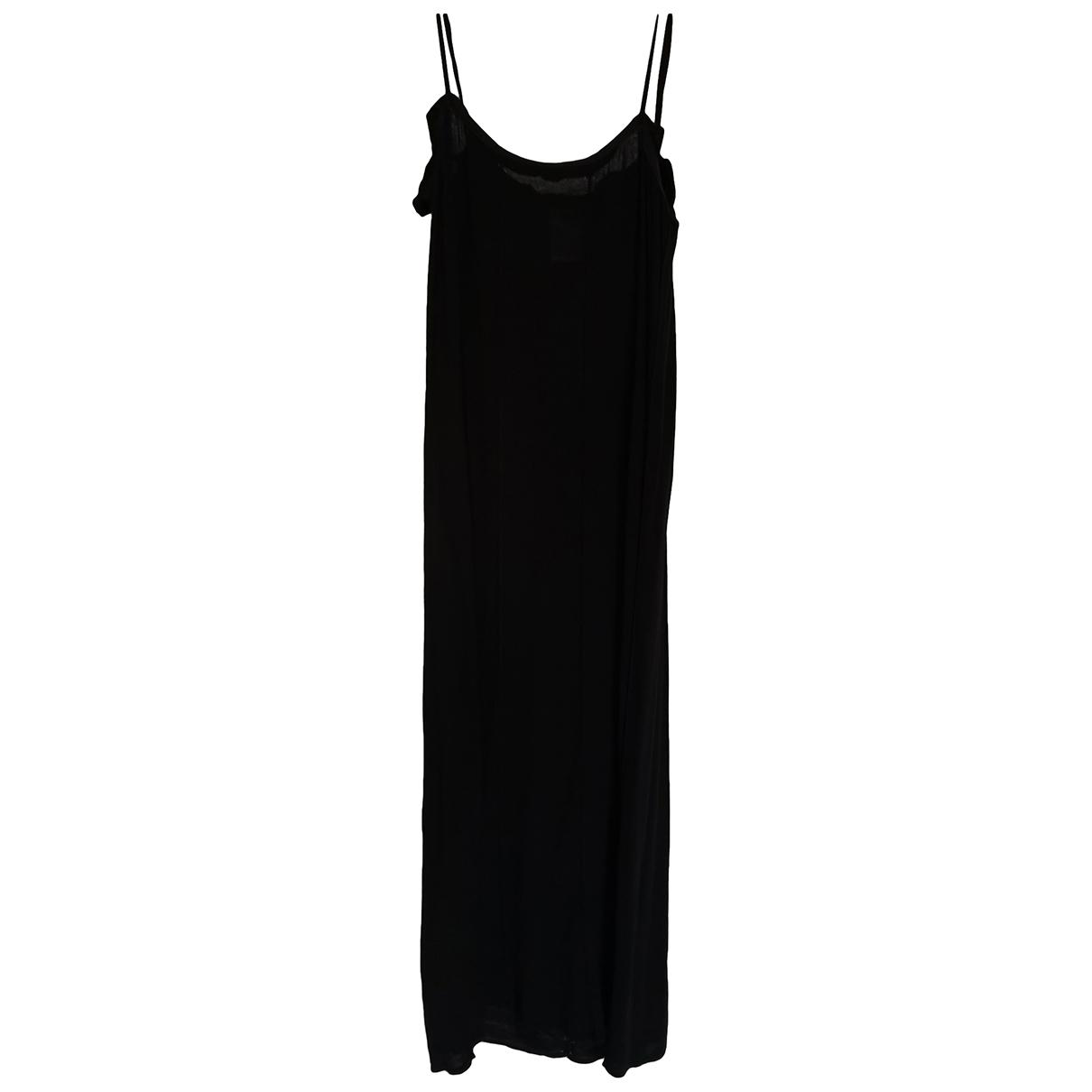 Patrizia Pepe \N Black Cotton dress for Women 42 IT