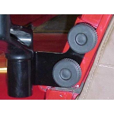 Skid Row Off Road Mirror Relocation Bracket (Black) - JP-1002