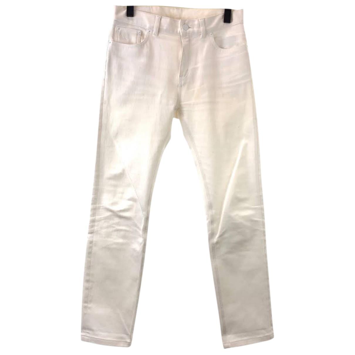 Louis Vuitton N Cotton Trousers for Men 28 UK - US