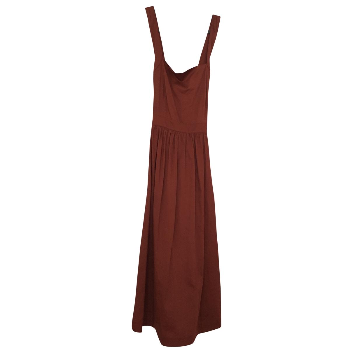 & Stories \N Brown Cotton dress for Women 42 FR