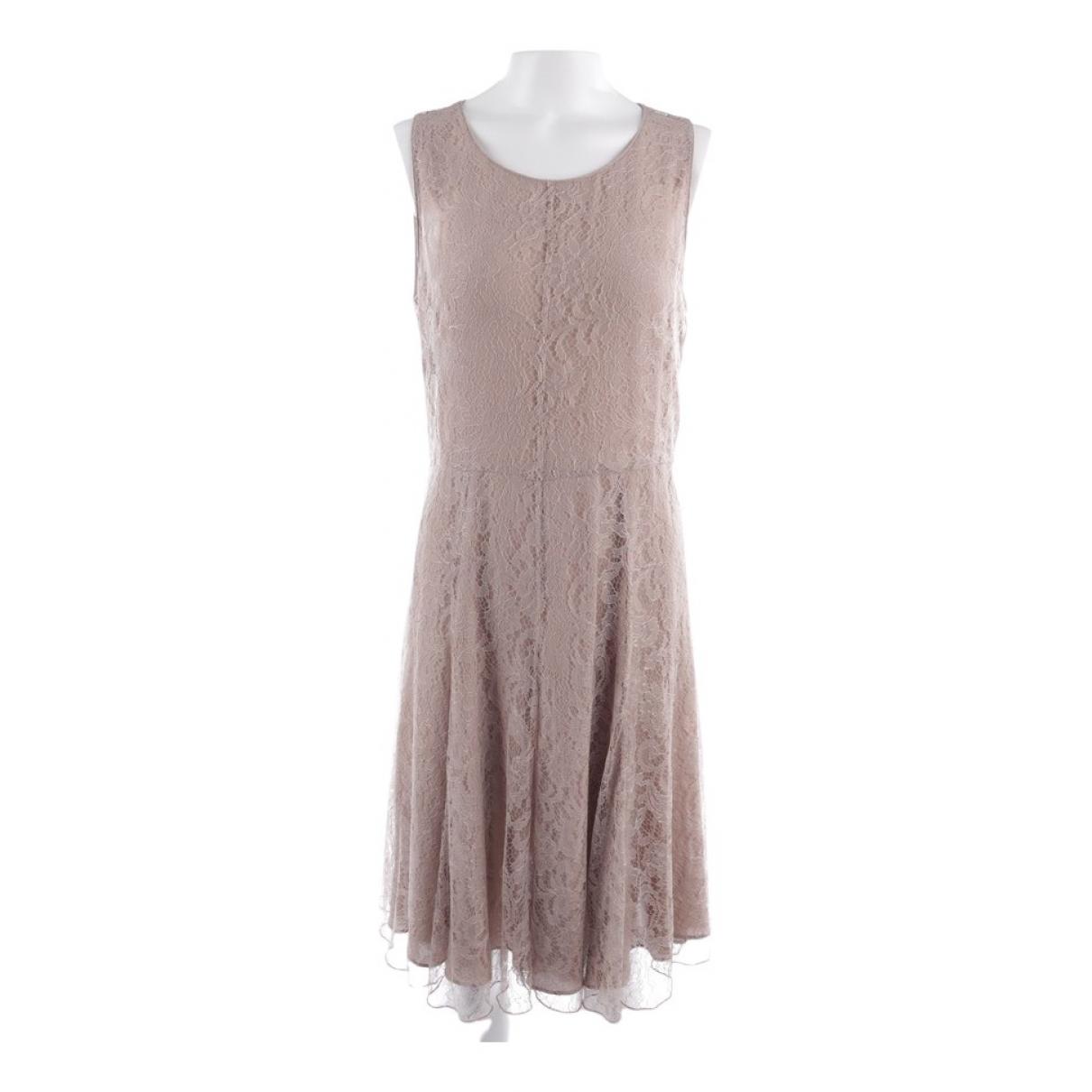 Burberry \N Beige Cotton dress for Women 34 FR