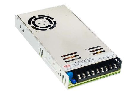 Mean Well , 321.6W Embedded Switch Mode Power Supply SMPS, 48V dc, Enclosed