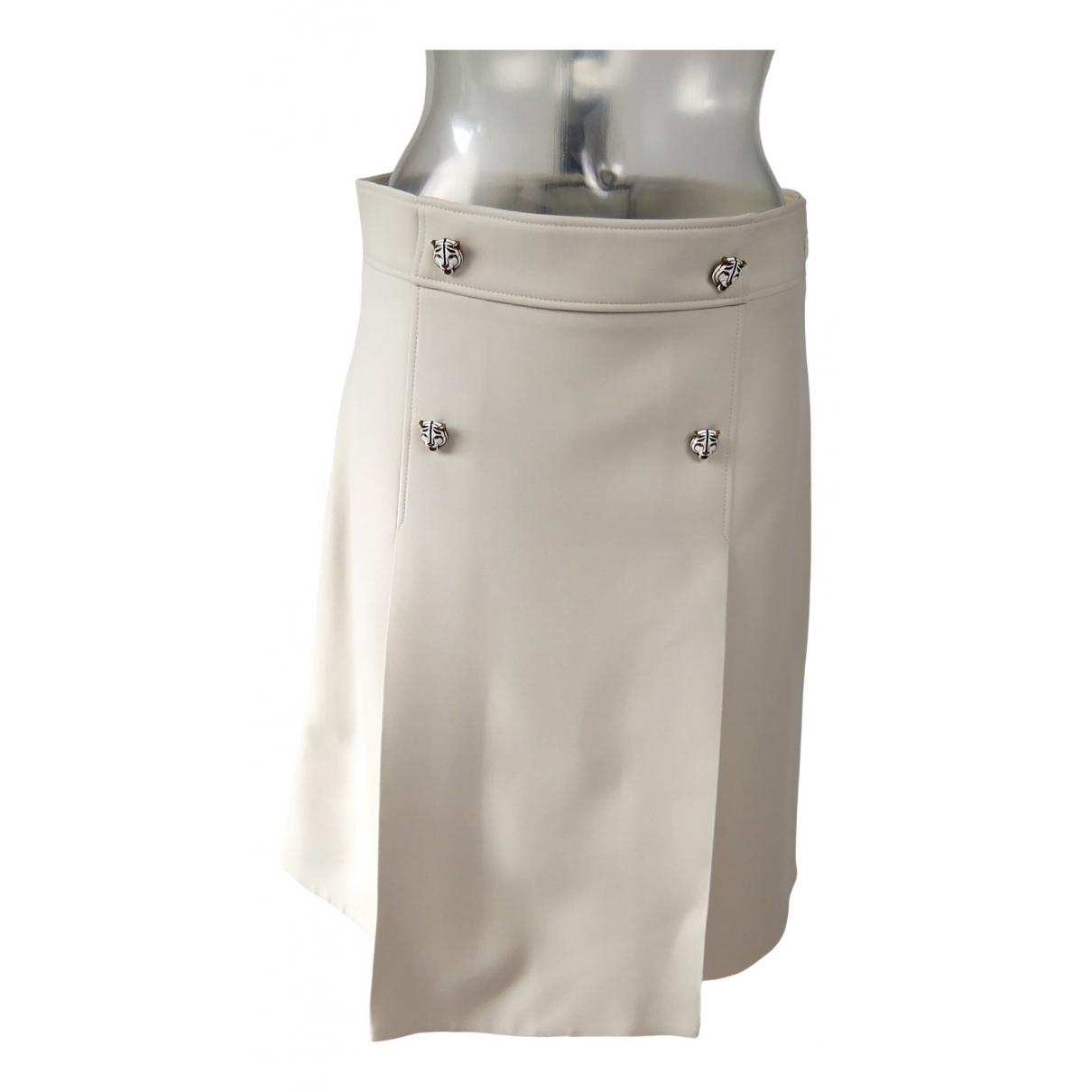 Gucci \N Beige Silk skirt for Women 44 IT