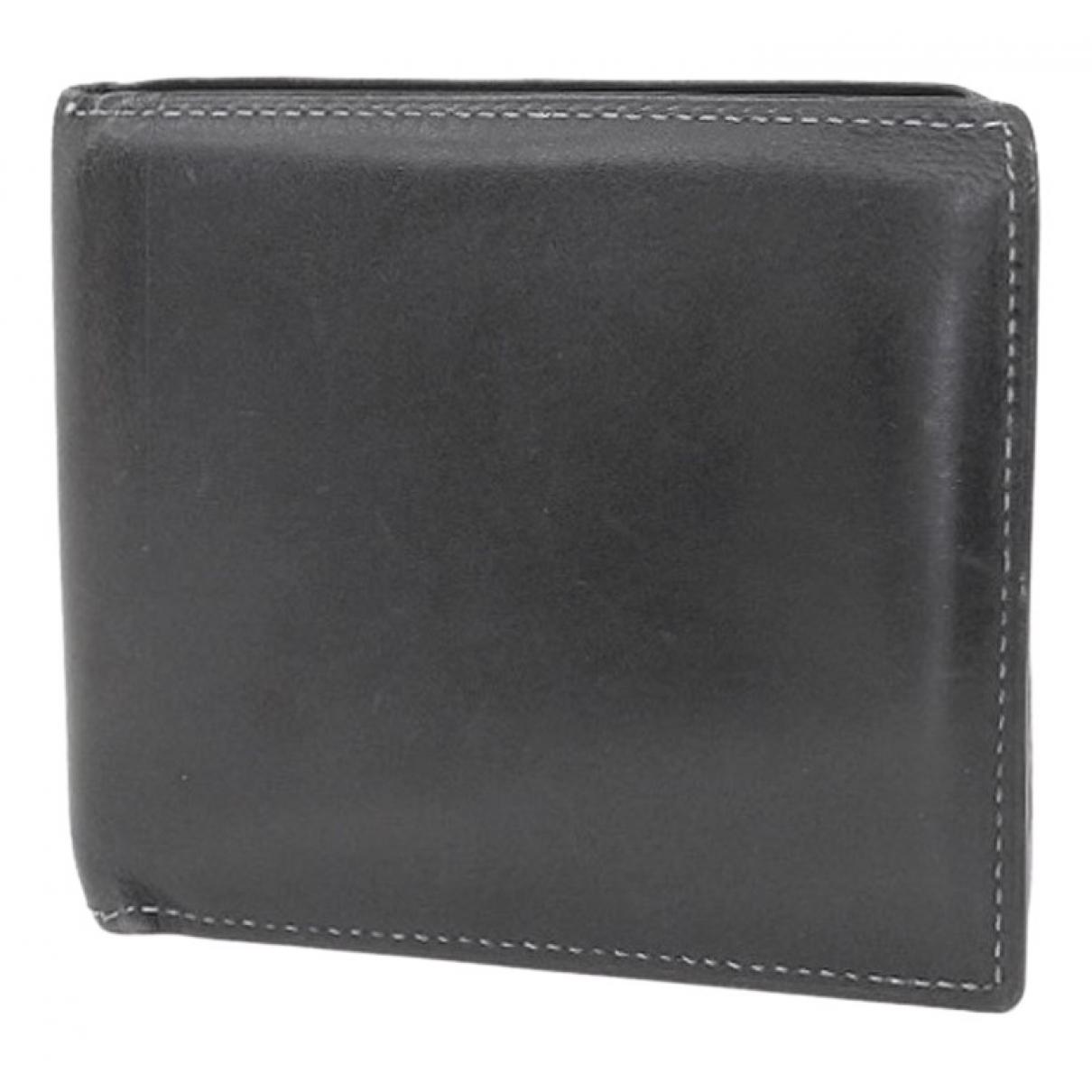 Berluti - Portefeuille   pour femme en cuir - noir