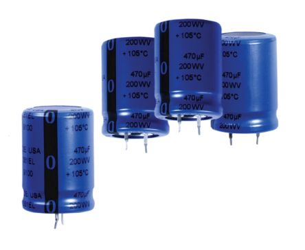 Cornell-Dubilier 10000μF Electrolytic Capacitor 63V dc, Through Hole - SLPX103M063E9P3