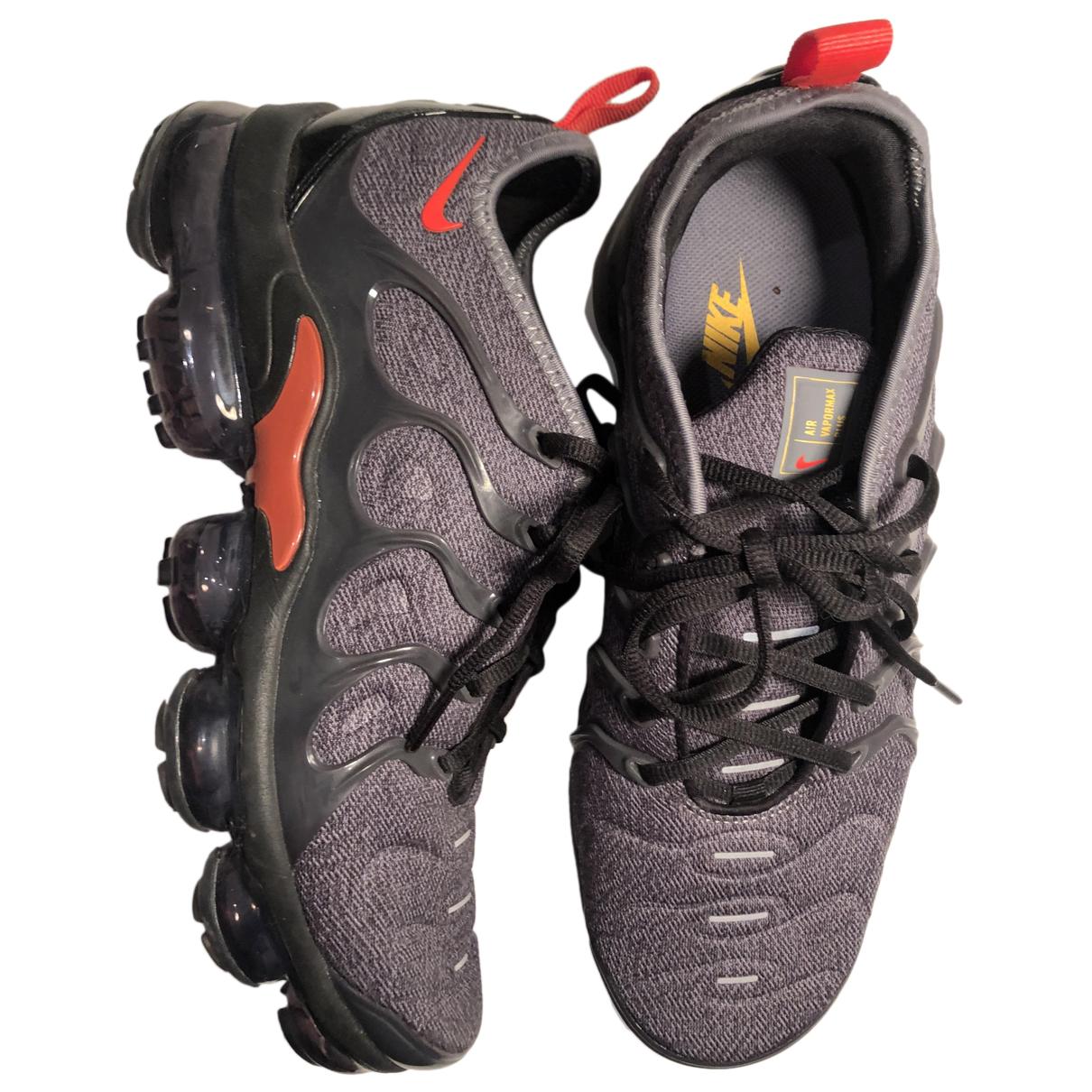 Nike - Baskets VaporMax Plus pour homme en toile - anthracite