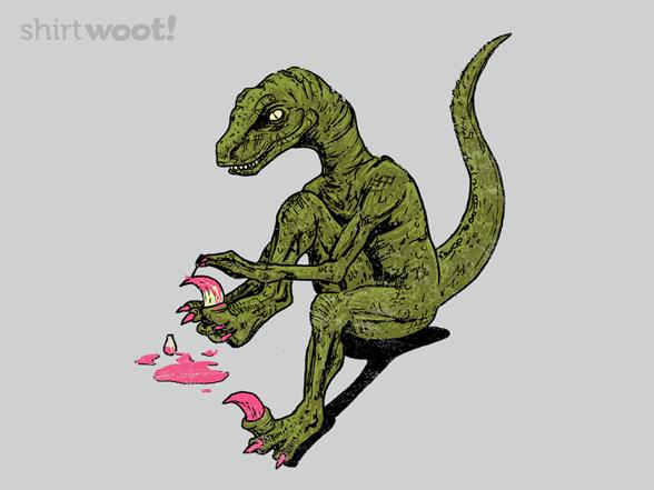 Jurassic Pedicure T Shirt