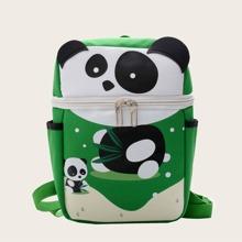 Kinder Rucksack mit Karikatur Panda Muster