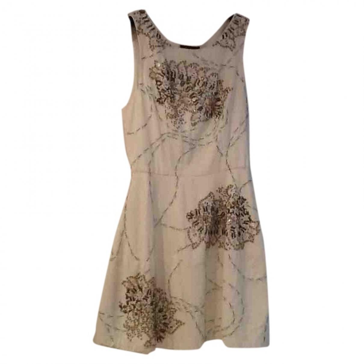 Antik Batik \N Ecru Cotton dress for Women 36 FR