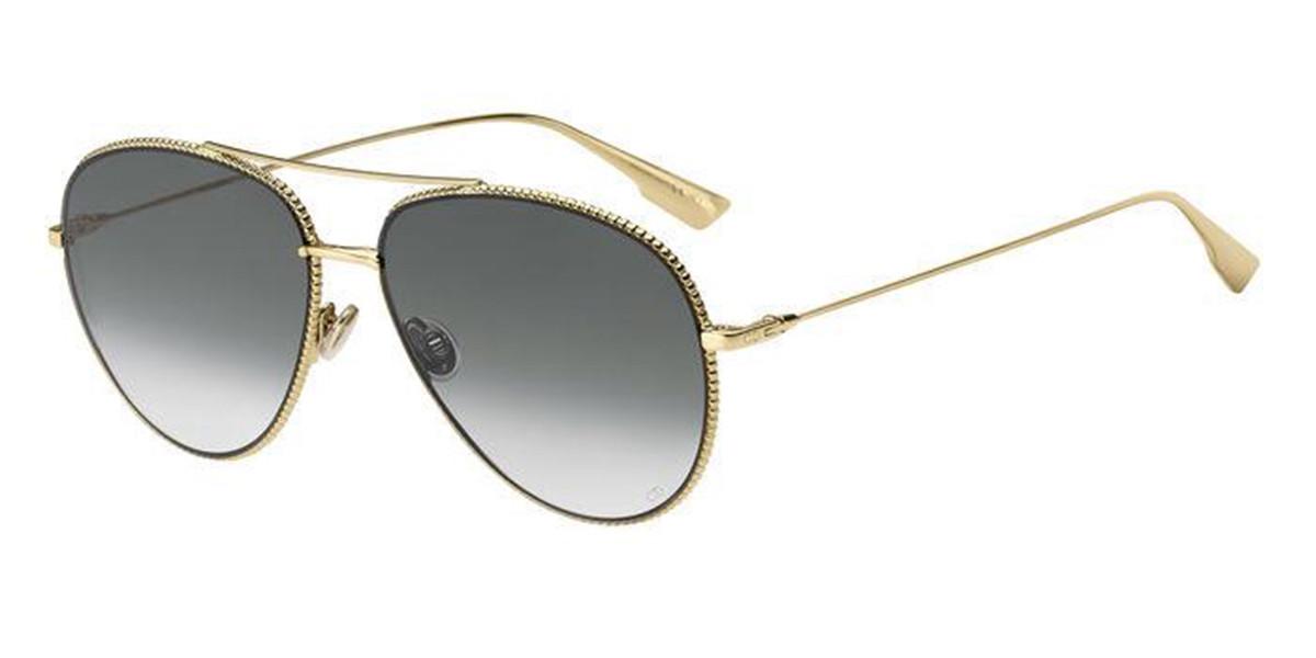 Dior DIOR SOCIETY3 J5G/9O Men's Sunglasses Gold Size 57