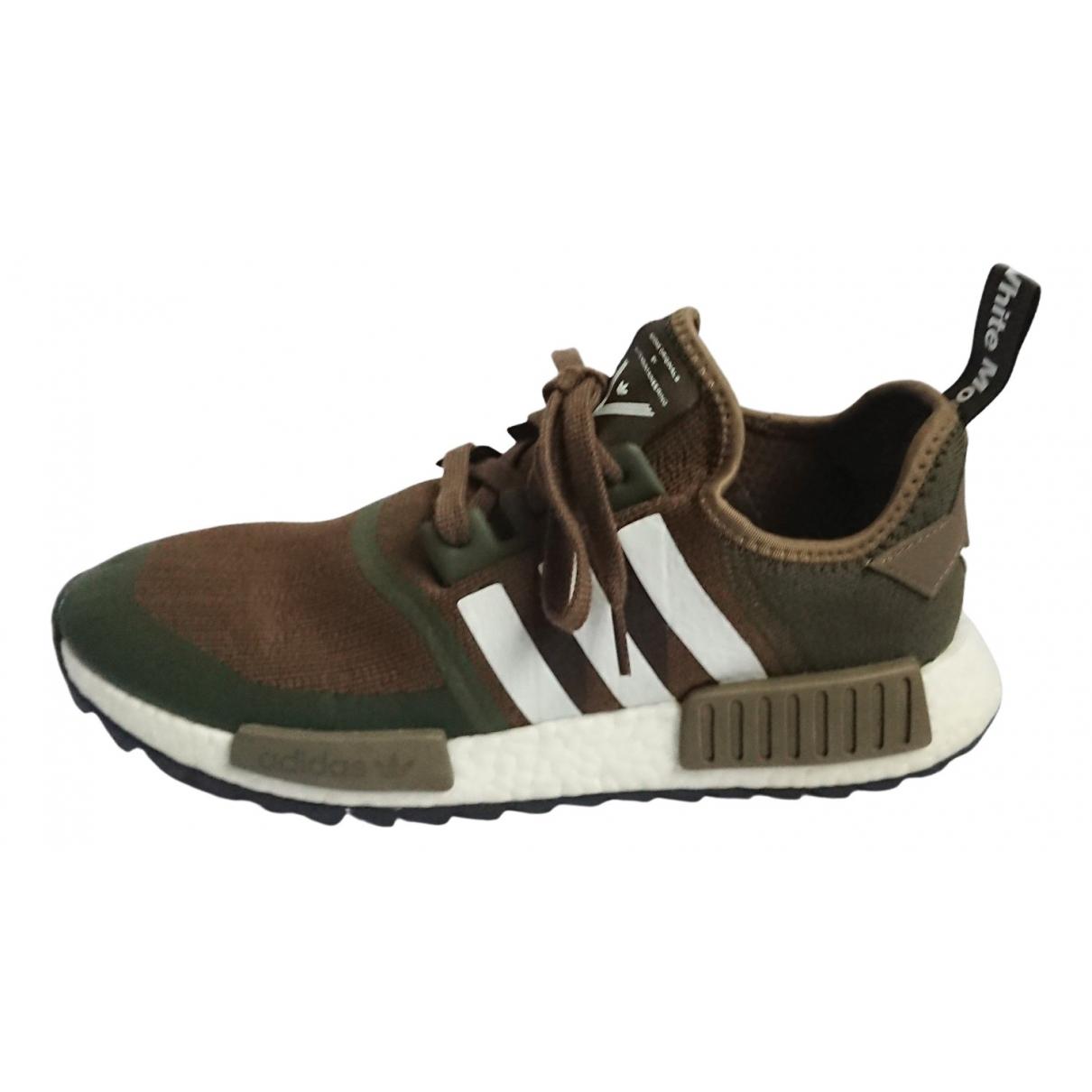 Adidas Nmd Sneakers in  Khaki Leinen