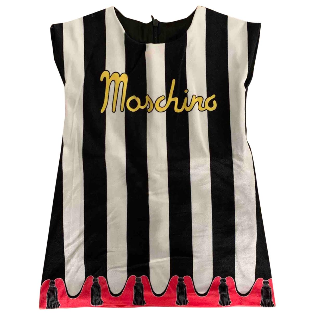 Mini vestido de Terciopelo Moschino