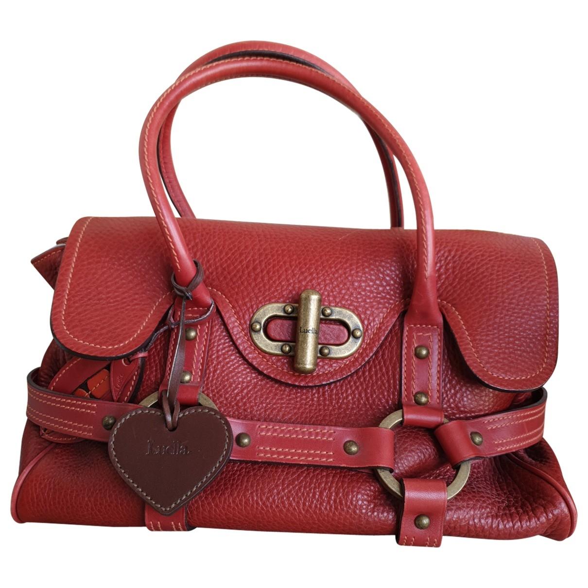 Luella \N Red Leather handbag for Women \N
