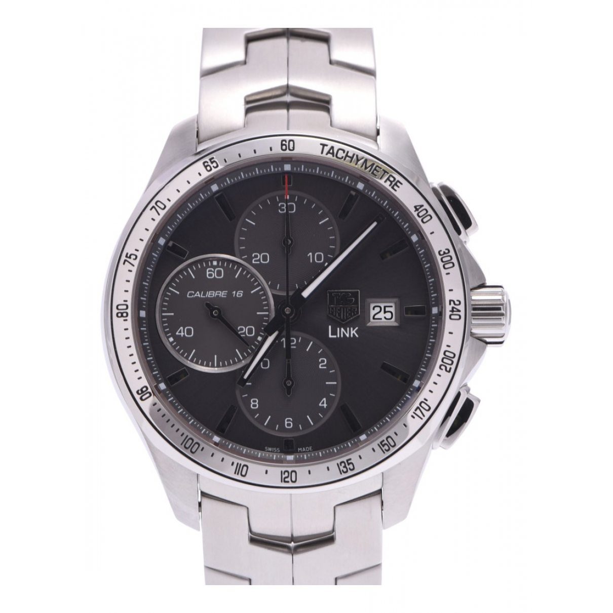 Tag Heuer Link  Grey Steel watch for Men N