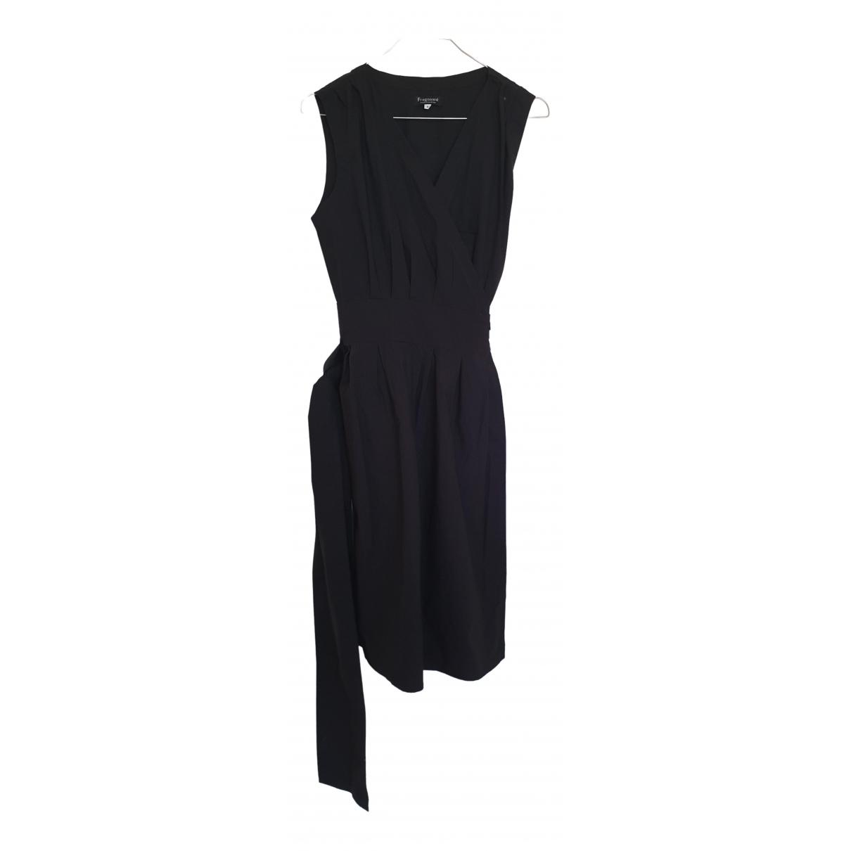 Fragonard \N Kleid in  Schwarz Baumwolle