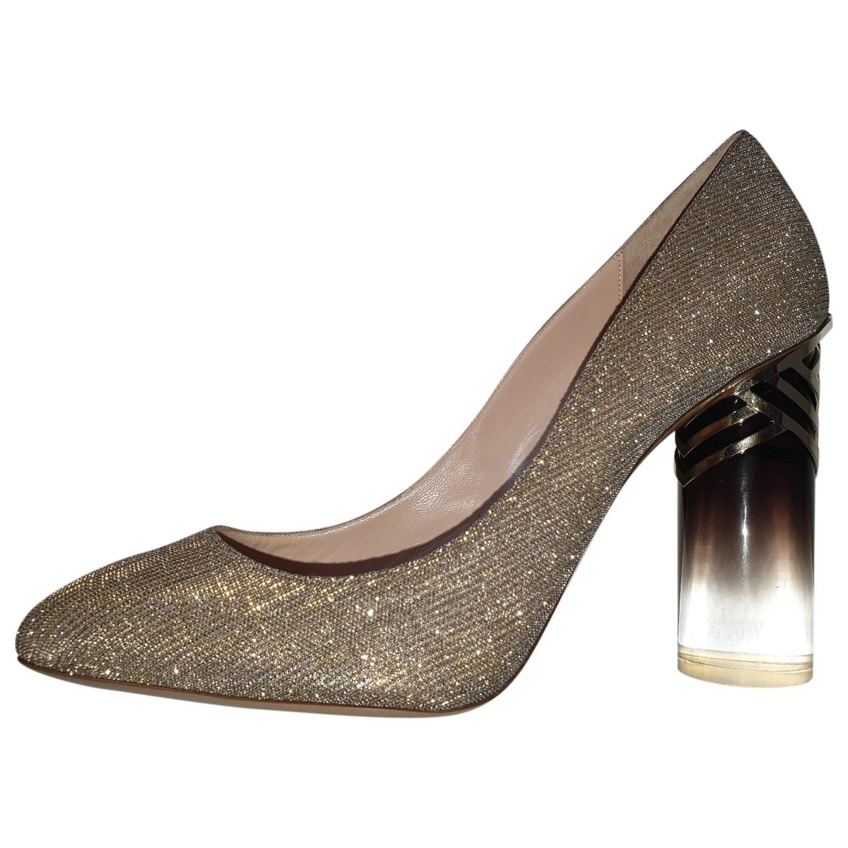 Nicholas Kirkwood \N Glitter Heels for Women 39 EU