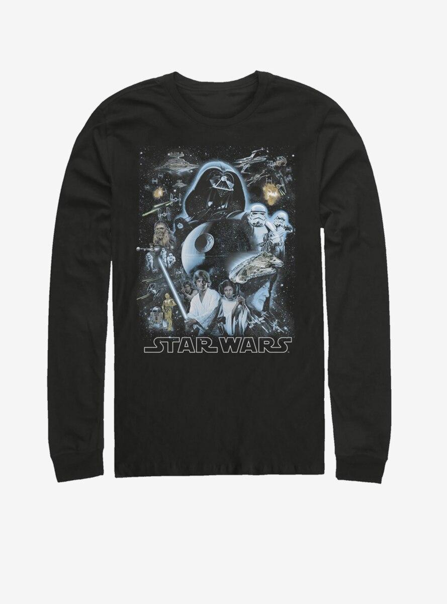 Star Wars Galaxy of Stars Long-Sleeve T-Shirt