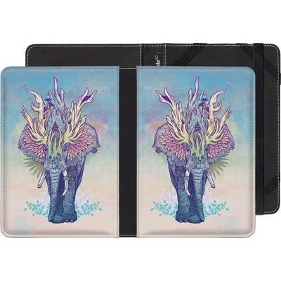 Sony Reader PRS-T1 eBook Reader Huelle - Spirit Elephant  von Mat Miller