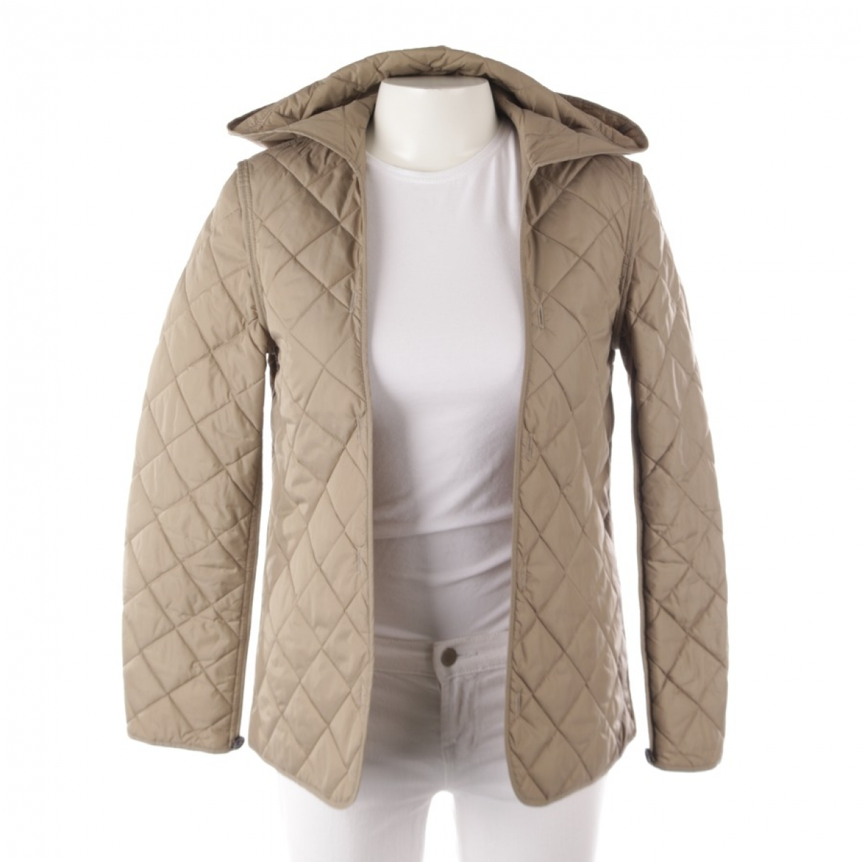 Burberry \N Jacke in  Beige Synthetik