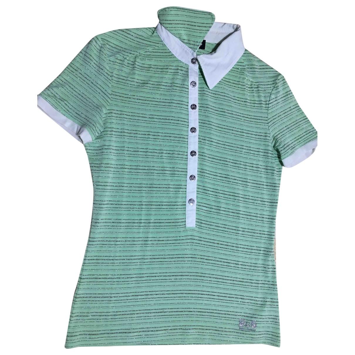 D&g - Top   pour femme en coton - vert