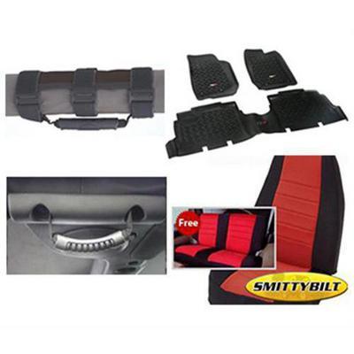 Genuine Packages Interior Pack (Black/Red) - 1316JK4DBR