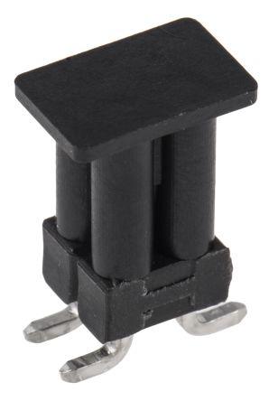 TE Connectivity , AMPMODU MOD II, 4 Way, 2 Row, Straight Pin Header (10)
