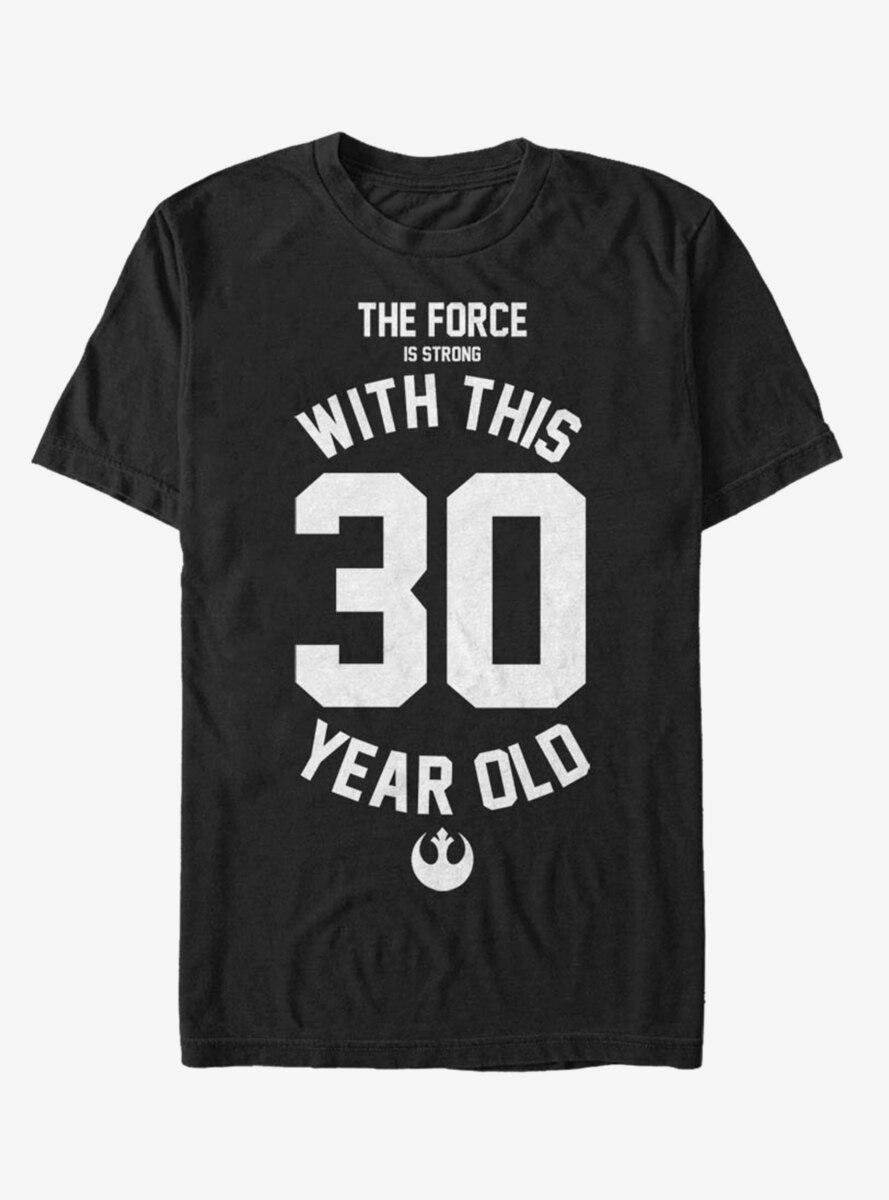 Star Wars Force Sensitive Thirty T-Shirt