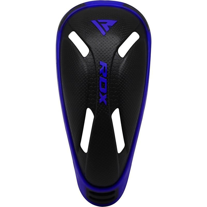 RDX Coquilles de Sports de Combat  Bleu PVC