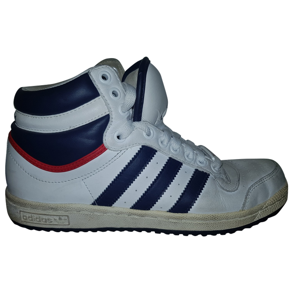 Adidas \N White Leather Trainers for Women 7 US