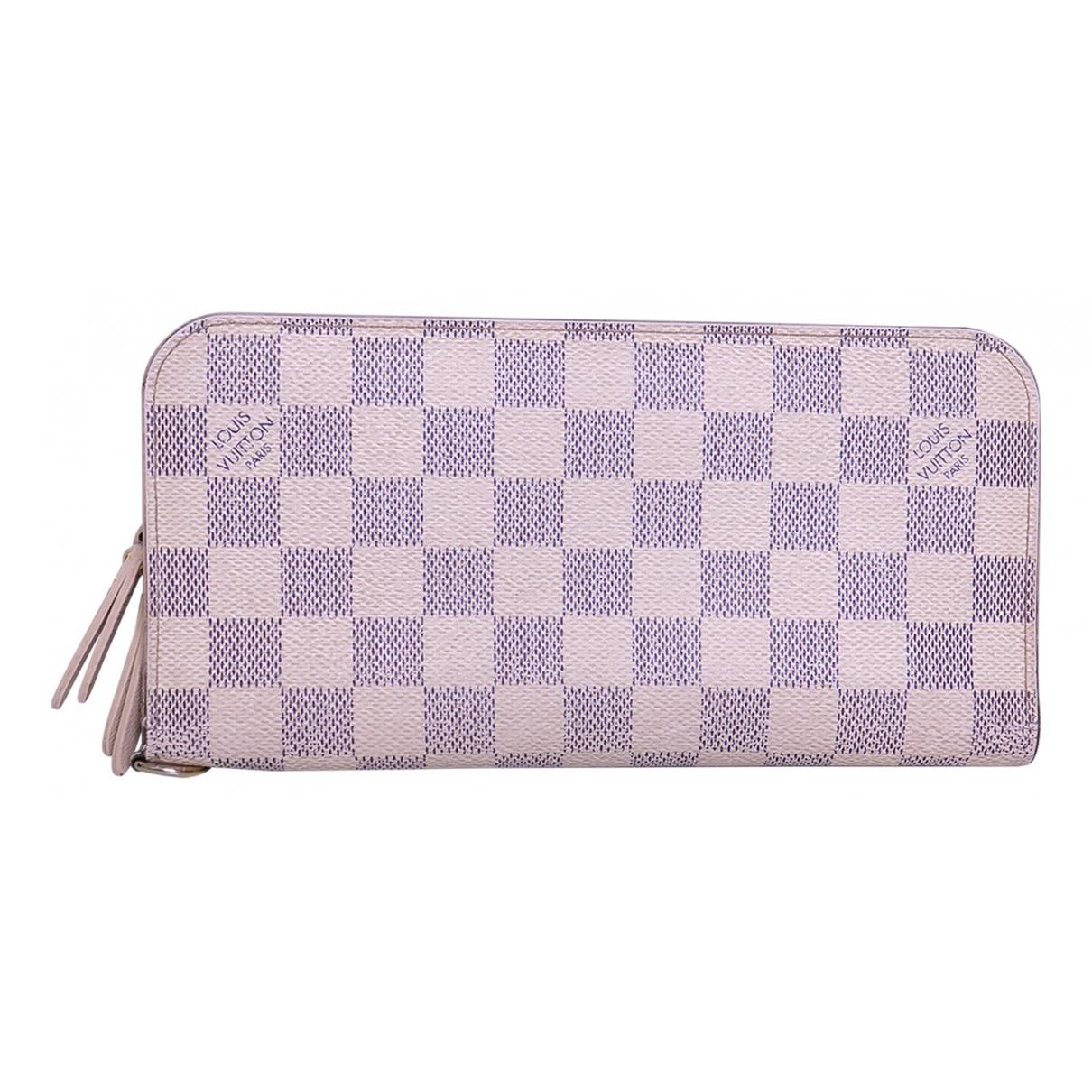 Louis Vuitton - Portefeuille Zippy pour femme en toile - ecru
