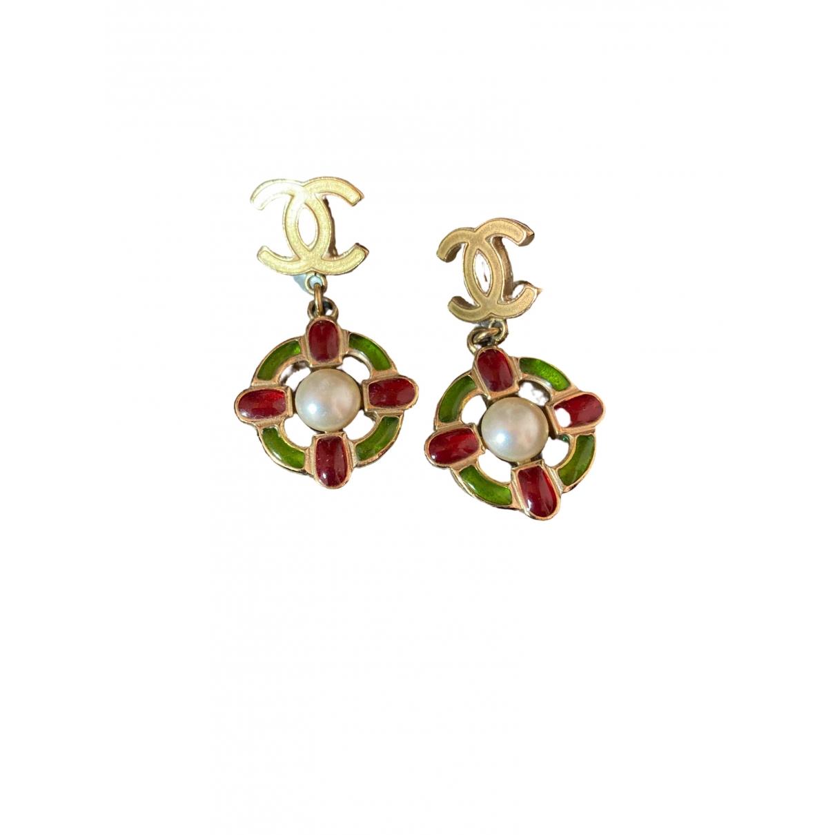Chanel \N Multicolour Metal Earrings for Women \N