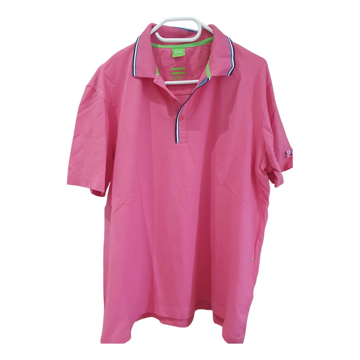 Boss \N Poloshirts in  Rosa Baumwolle