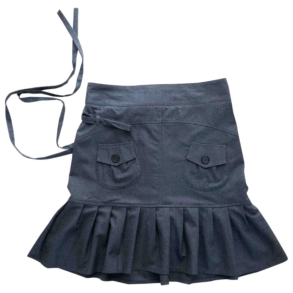 Comptoir Des Cotonniers \N Grey Wool skirt for Women 38 FR