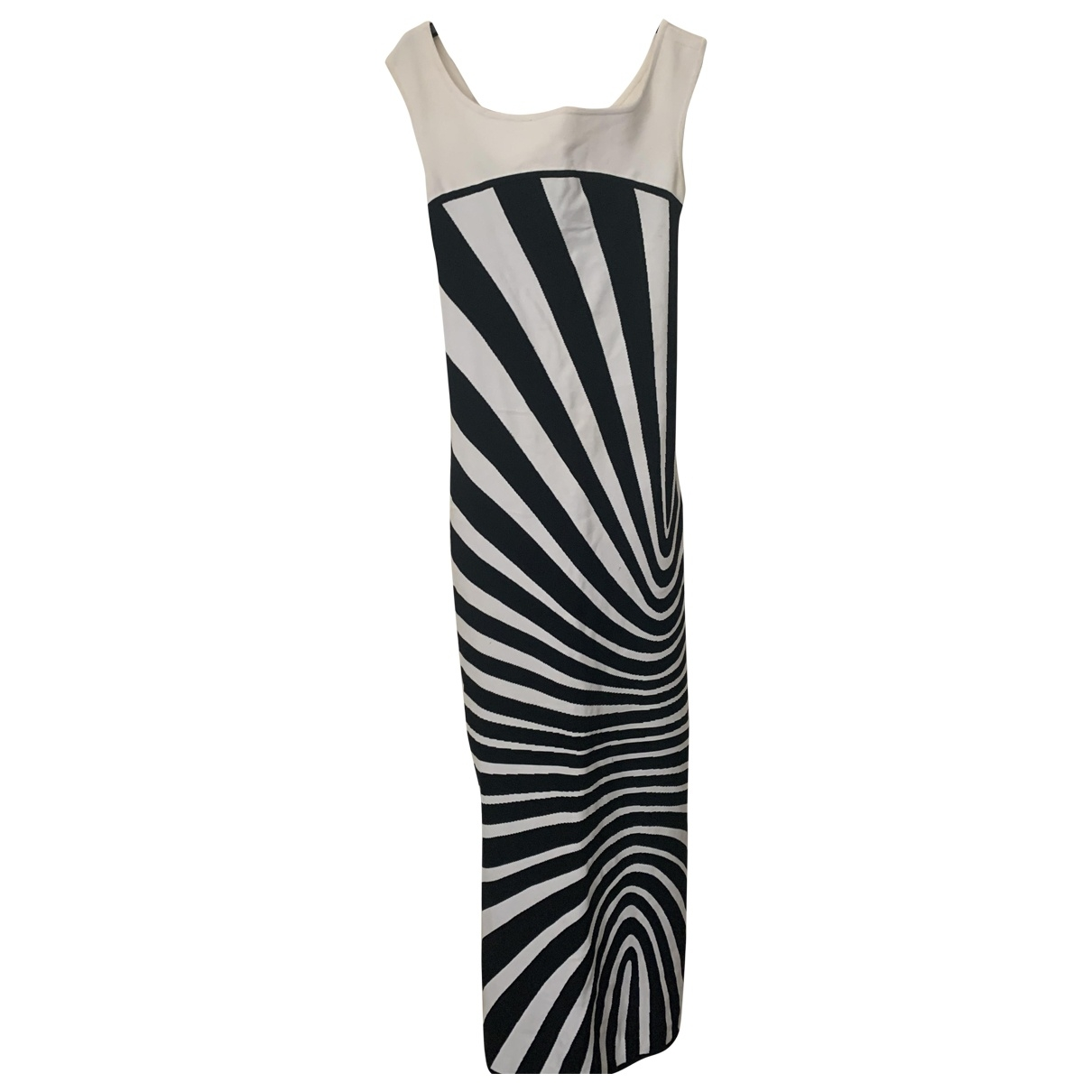 Herve Leger \N Cotton - elasthane dress for Women 2 US