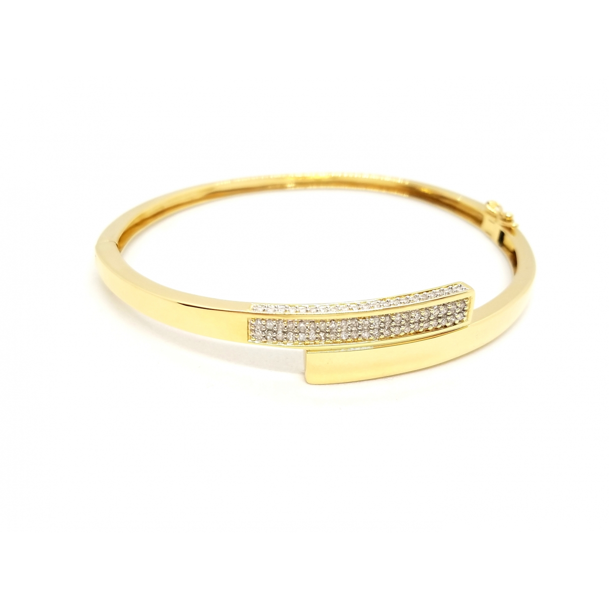 Non Signé / Unsigned Jonc Gold Yellow gold bracelet for Women \N