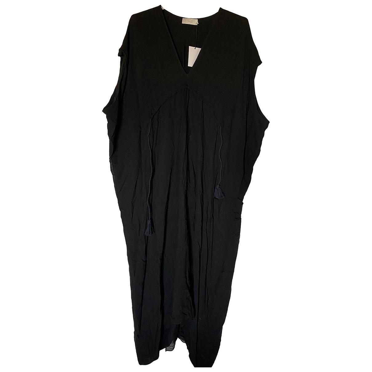 Hatch \N Kleid in  Schwarz Baumwolle