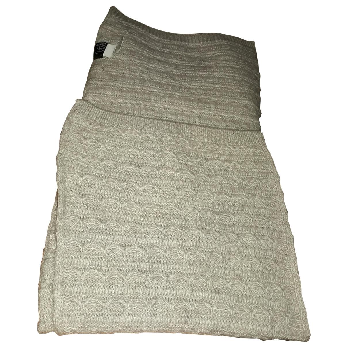 Pal Zileri - Foulard   pour femme en laine - beige