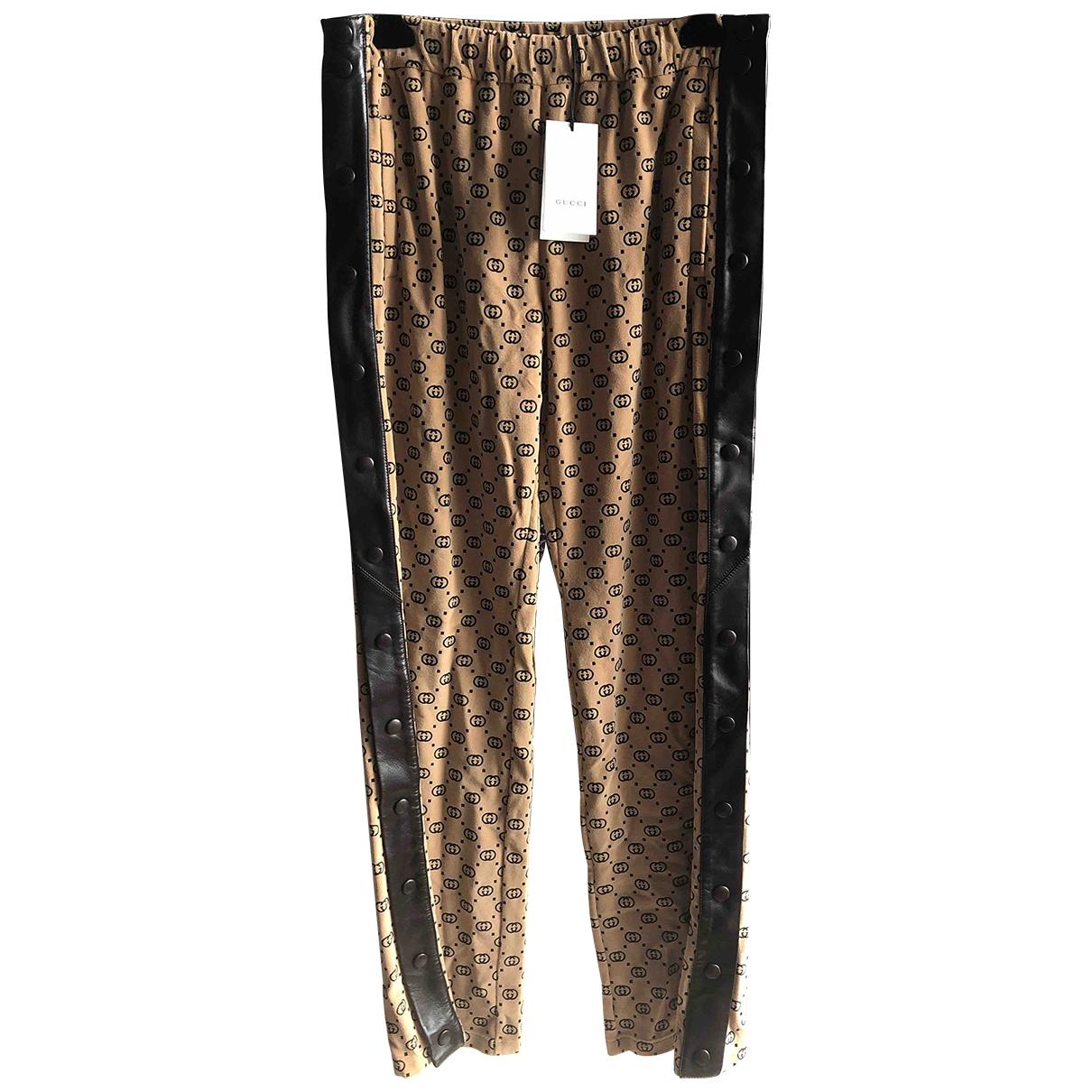 Gucci - Pantalon   pour homme en coton - beige