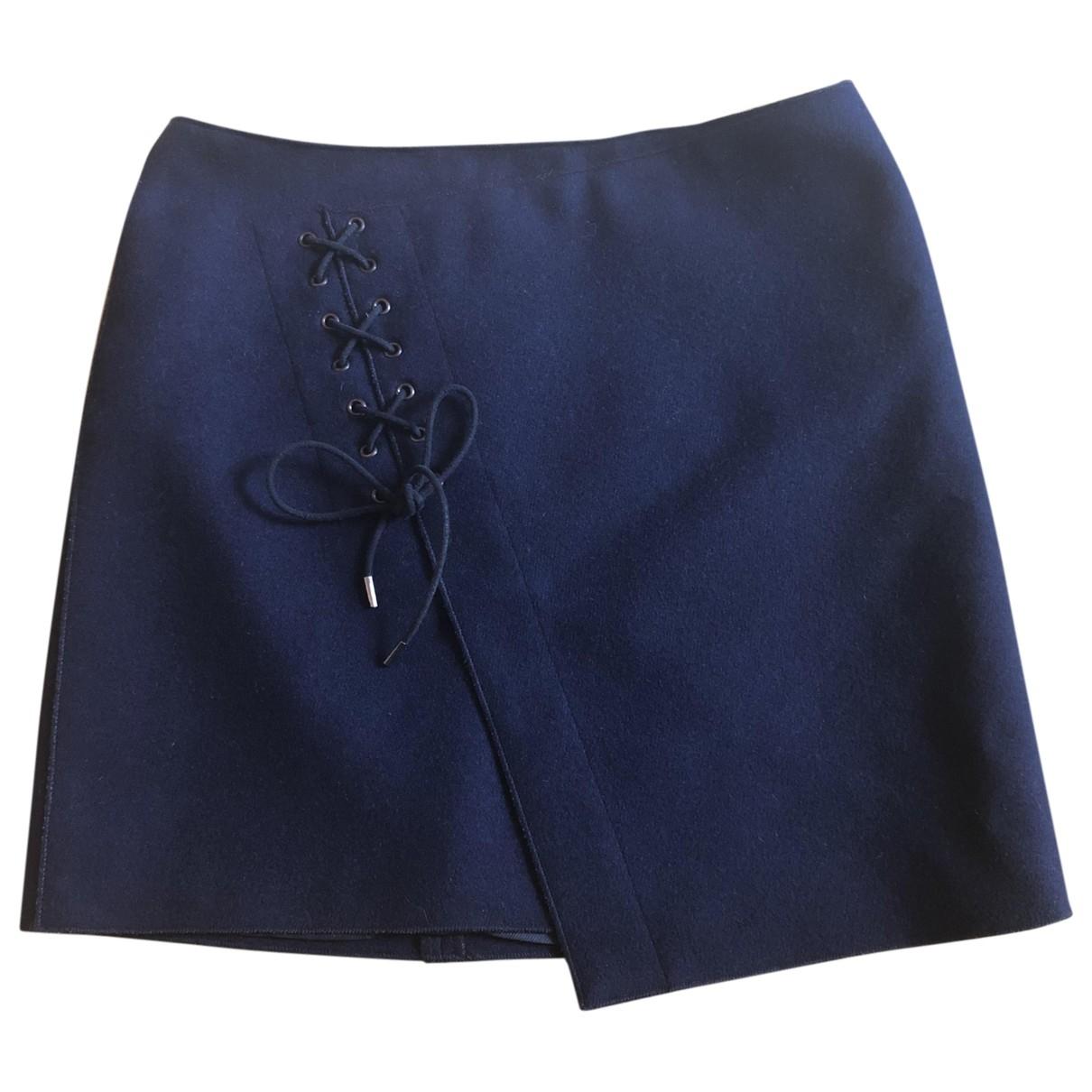 Vanessa Bruno \N Navy Wool skirt for Women 34 FR