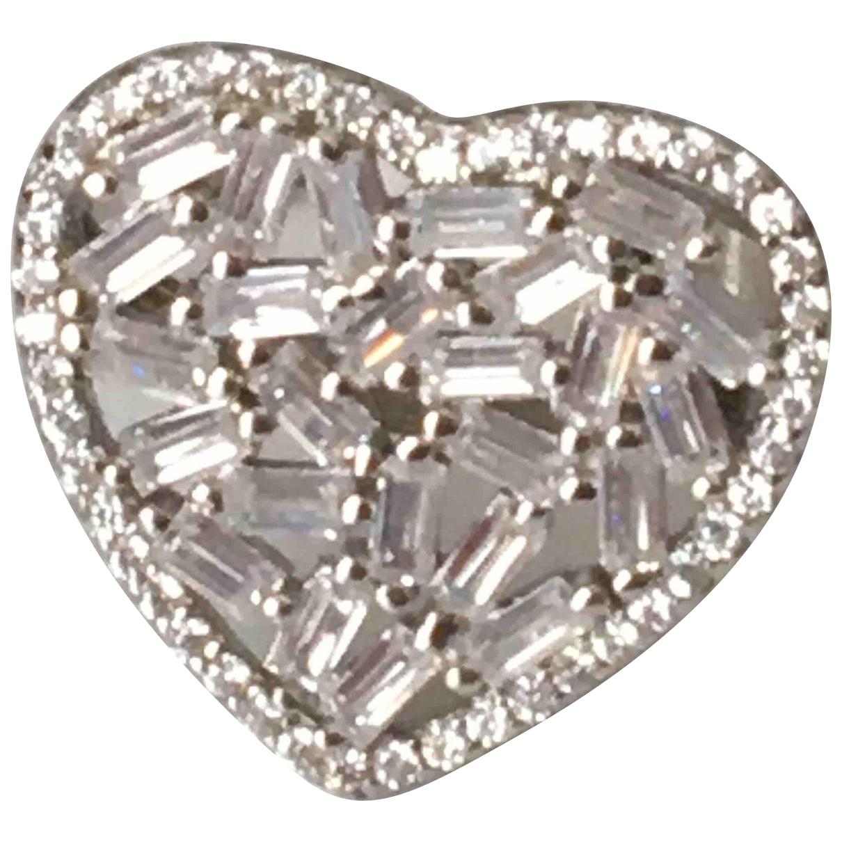 - Bague Motifs Coeurs pour femme en argent - argente
